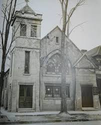 An older picture of the first black church of Syracuse, AME Zion Church, built by fugitive slave Jermain Loguen in 1910. Courtesy of Save 711 AME Zion, 2014.